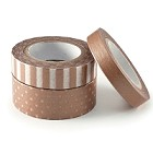 We-R-Memory Keepers -  Metallic Washi Tape - Copper