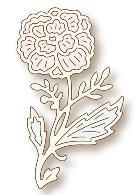 wild rose studio die emmeline flower. Black Bedroom Furniture Sets. Home Design Ideas