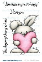 Your Next Stamp - Clear Stamp - Happy Heart