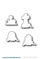 Your Next Stamp - Dies - Halloween Graveyard
