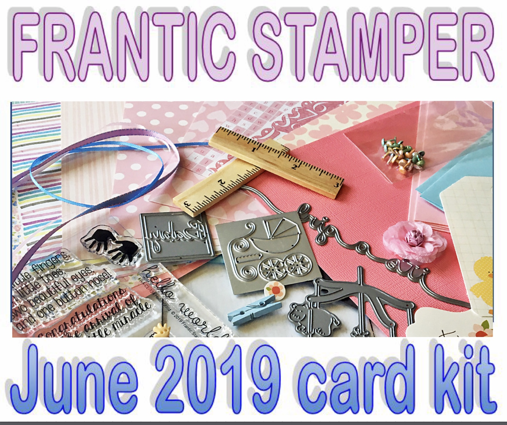 Frantic Stamper June Card Kit