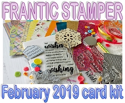 Monthly Card Kit - February 2019 - Happy Birthday