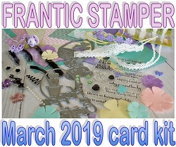 Monthly Card Kit - March 2019 - Easter