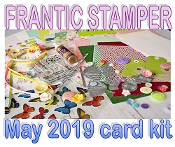 Monthly Card Kit - May 2019 - Spring Showers