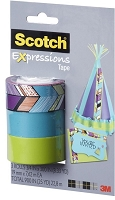 3M Scotch - Expressions Removable Tape - 3/4
