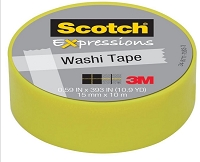 3M Scotch - Expressions Washi Tape - 15mm x 10m - Pastel Green