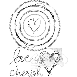 49 and Market - Clear Stamp - Gabi's Circle Stitch Stamp Set