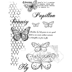 49 and Market - Clear Stamp - Gabi's Butterflies Are Free Stamp Set
