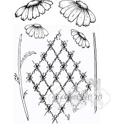49 and Market - Clear Stamp - Gabi's Daisies Stamp Set