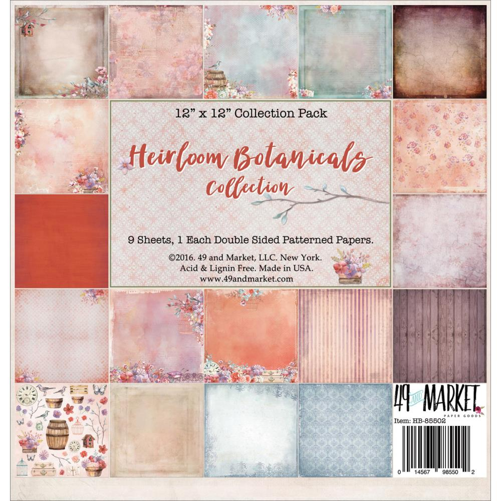 Heirloom Botanicals Paper Collection