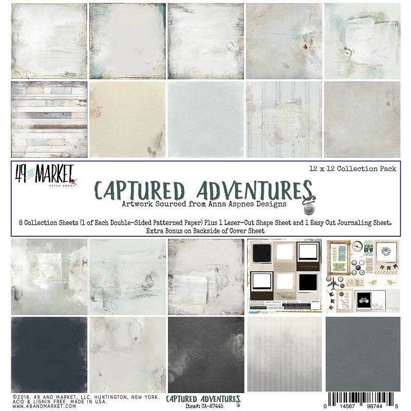 Captured Adventures Paper Collection