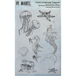 49 and Market - Gabi's Underwater Treasures Clear Stamps