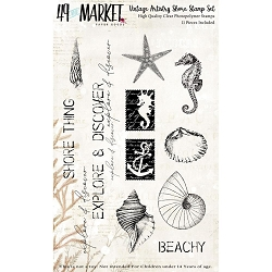 49 and Market - Clear Stamp - Vintage Artistry Shore