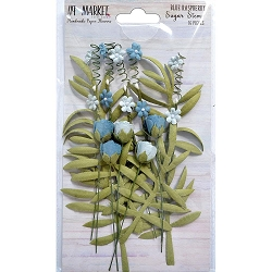 49 and Market - Sugar Stems Flowers - Blue Raspberry