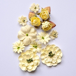 49 and Market - Country Blooms - Cream