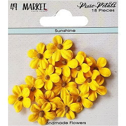 49 and Market - Pixie Petals Flowers - Sunshine