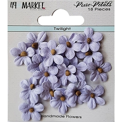 49 and Market - Pixie Petals Flowers - Twilight