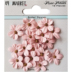 49 and Market - Pixie Petals Flowers - Ballet Slipper