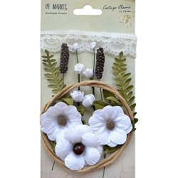 49 and Market - Paper Flowers - Cottage Blooms Cotton