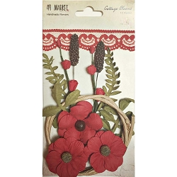 49 and Market - Paper Flowers - Cottage Blooms Poppy