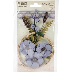 49 and Market - Paper Flowers - Cottage Blooms Bluebell