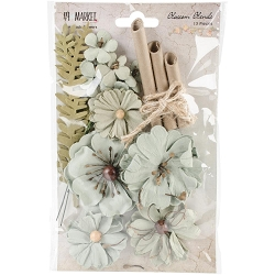 49 and Market - Paper Flowers - Blossom Blends Aloe