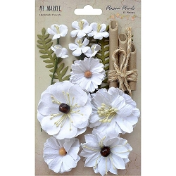 49 and Market - Paper Flowers - Blossom Blends Cotton