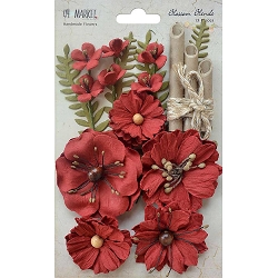 49 and Market - Paper Flowers - Blossom Blends Poppy