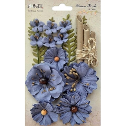 49 and Market - Paper Flowers - Blossom Blends Bluebell