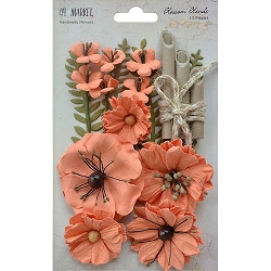 49 and Market - Paper Flowers - Blossom Blends Cantaloupe