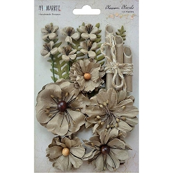49 and Market - Paper Flowers - Blossom Blends Linen