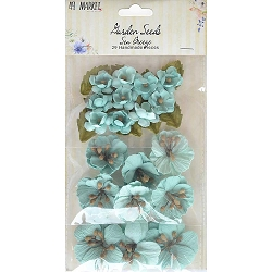 49 and Market - Paper Flowers - Garden Seeds Sea Breeze