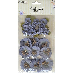 49 and Market - Paper Flowers - Garden Seeds Bluebell