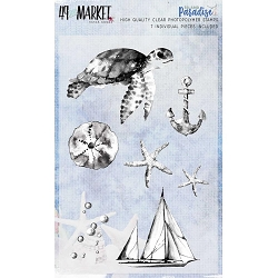49 and Market - Clear Stamp - Island Paradise Stamp Set