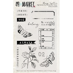 49 and Market - Clear Stamp - Always Together