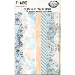 49 and Market - Vintage Artistry Wedgewood Washi Strips