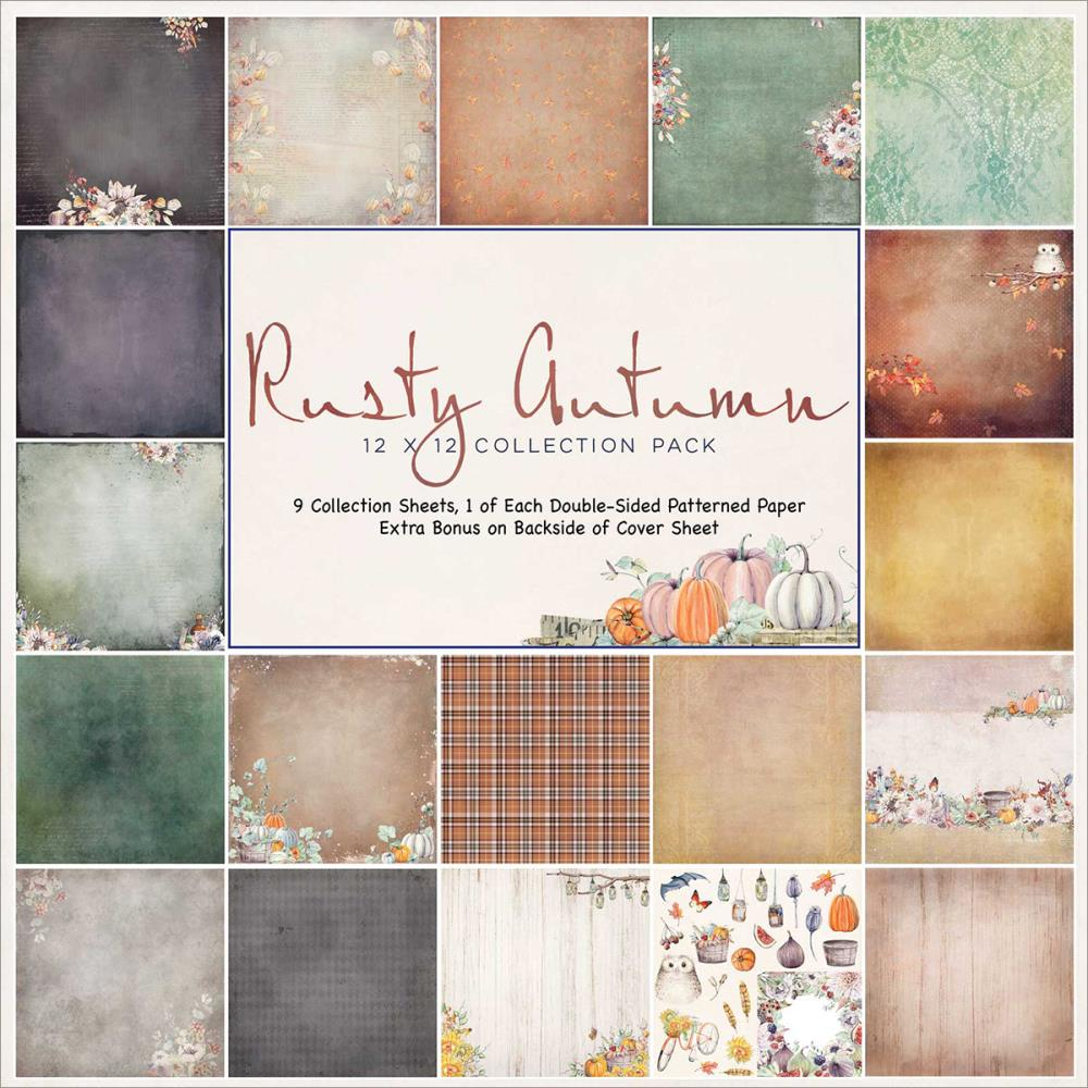 Rusty Autumn Paper Collection