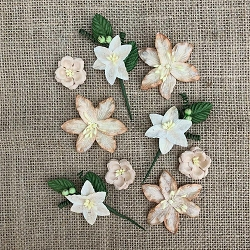 49 and Market - Paper Flowers - Stargazers Cashmere