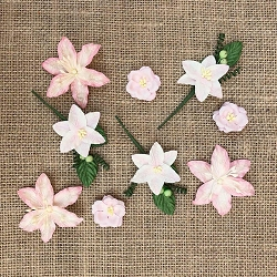 49 and Market - Paper Flowers - Stargazers Petal Pink