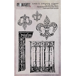 49 and Market - Clear Stamp - Gabi's Ornate