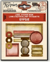 7 Gypsies-Label Sticker Book-Gypsie :)
