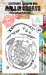 AALL & Create - Clear Stamp A6 size - Set #37