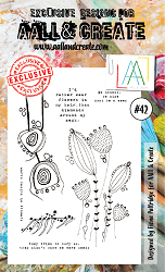 AALL & Create - Clear Stamp A6 size - Set #42