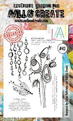 AALL & Create - Clear Stamp A6 size - Set #43