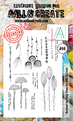 AALL & Create - Clear Stamp A6 size - Set #44