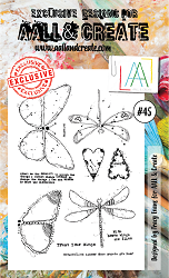 AALL & Create - Clear Stamp A6 size - Set #45