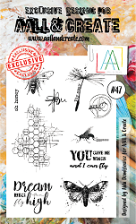 AALL & Create - Clear Stamp A6 size - Set #47