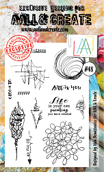 AALL & Create - Clear Stamp A6 size - Set #48