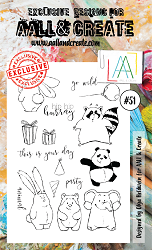 AALL & Create - Clear Stamp A6 size - Set #51