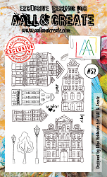 AALL & Create - Clear Stamp A6 size - Set #52